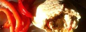 Dietetyczne pity z kurczakiem i suszonymi pomidorami