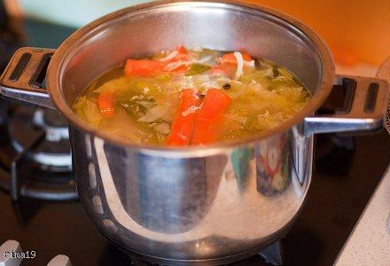 Pyszna, zdrowa zupa z kapustą