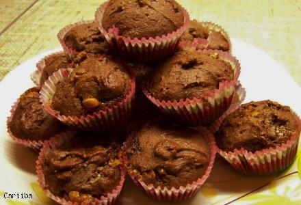Muffiny ze snickersem