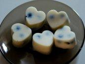 białe czekoladki bez cukru, nabiału, dwa składniki!