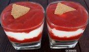 Deser z truskawkami i serkiem mascarpone