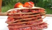 Truskawkowy torcik z tortilli