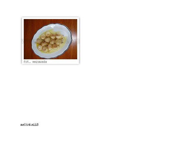 Kluseczki z sera białego.