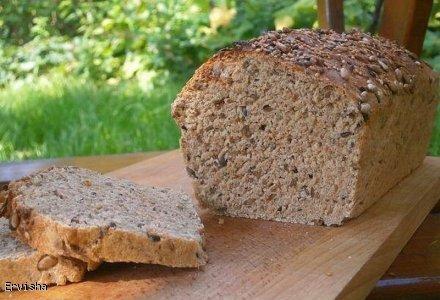 Pełnoziarnisty chleb jogurtowy