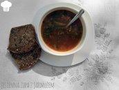 Jesienna zupa z jarmużem