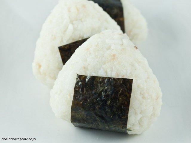 Onigiri - japońskie kulki ryżowe