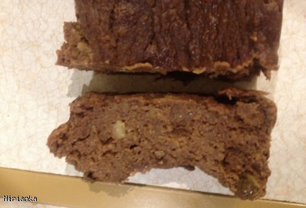 Ciasto z cieciorki bez mąki i tłuszczu