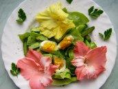 Kwiatowy Lunch Carrie Bradshaw