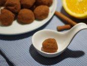 czekoladowe trufle z nutą pomarańczy
