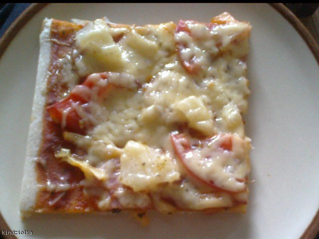 pizza - przepis na konkurs kulinarny