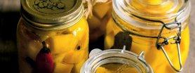 Uroda Życia poleca: dynia marynowana  z cynamonem i papryczką chilli