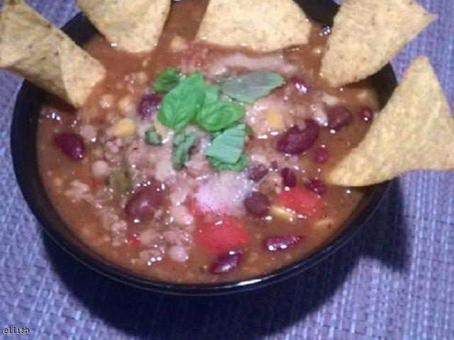 Zupa rozgrzewajaca po meksykansku!