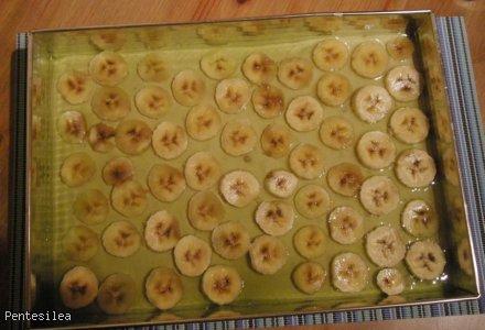 Bananowy sernik