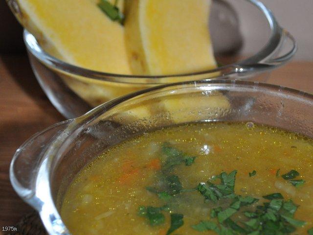 Zupa jesieni dyniowo-cebulowa