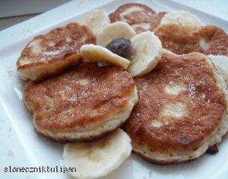Dietetyczne placuszki bananowe
