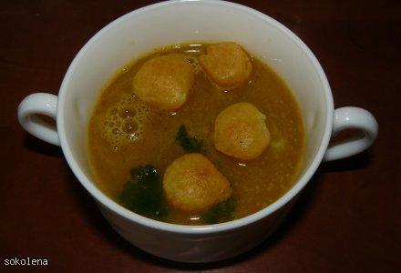 Zupa dyniowa na ostro