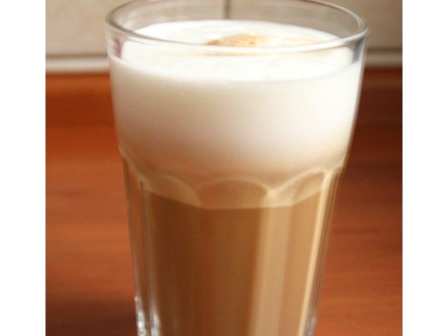 Kawa latte macchiato :D