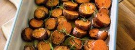 Uroda Życia poleca: Pataty pieczone z cynamonem