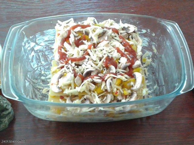 włoska lasagne z mielonym  mięsem