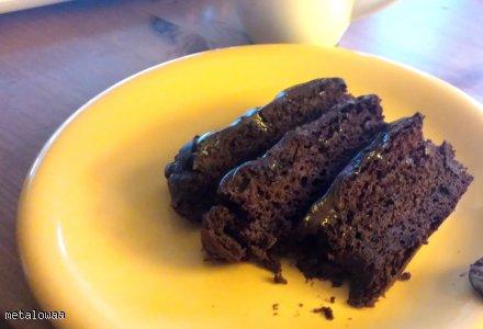 Mocno czekoladowe brownie z fasoli