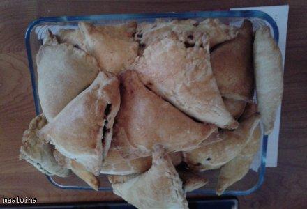kruche pierogi pieczone w piekarniku