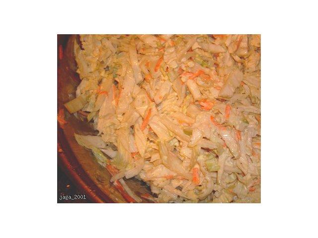 Surówka z kapusty pekińskiej
