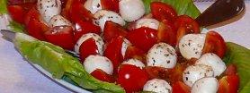 Mozzarellowo pomidorowa przystawka klasyczna
