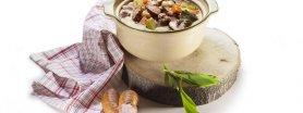 Zupa Drwali z Kiełbasą z czosnkiem niedźwiedzim