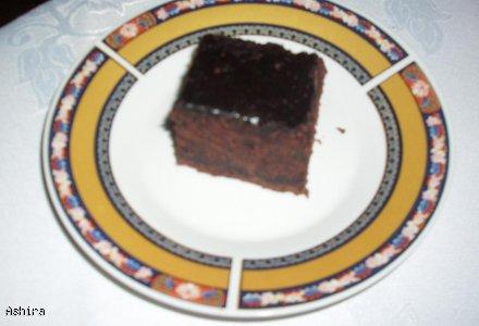 Ciasto czekoladowe na budyniach