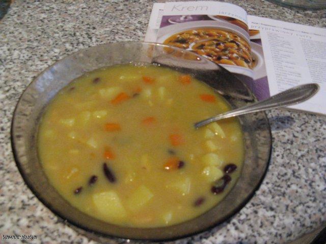 Krem jarzynowy przyprawiony curry