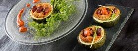 Muffinowe cukinie nadziewane Kiszką Ziemniaczaną i kiełbasą Polską z Kociewskiej Spiżarni