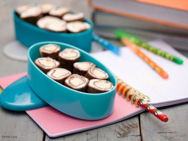 Wzorowe sushi - do szkolnego plecaka