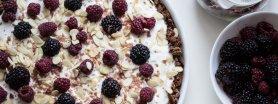 Przepis na super zdrową śniadaniową pizzę