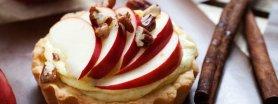 Jedzenie na pocieszenie - mini szarlotka w 5 minut