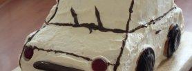 Tort Śmietanowy z brzoskwiniami dla chłopaka :P