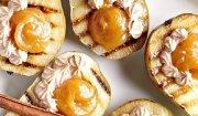 Gruszki nadziewane dżemem i serkiem mascarpone