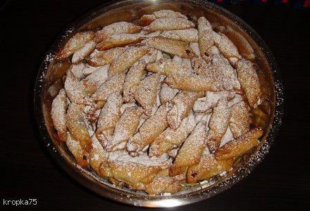 Rogaliki z marmoladą /z ciasta twarogowego/