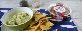 Guacamole ze śledzikiem na ostro