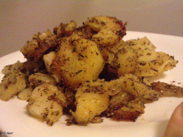 Pieczone ziemniaczki w ziołach