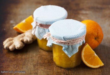 Konfitura z pomarańczy z imbirem i kurkumą