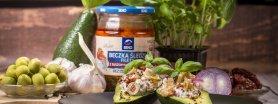 Neapolitańskie śledzie w avocado