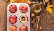 Pieczone jabłka z bakaliami