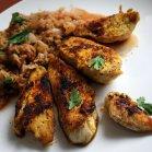 Kurczak curry z kapustką- dietetycznie