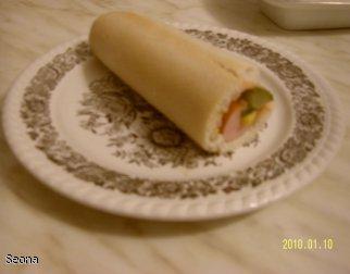 Hot dog z kukurydzą
