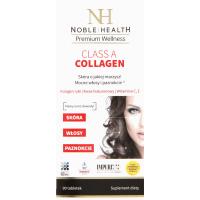 Noble Health, Class A Collagen, Zdrowa piękna skóra, mocne włosy i paznokcie