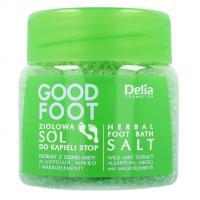 Delia, Good Foot, Ziołowa sól do kąpieli stóp