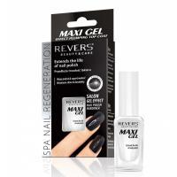 Revers Cosmetics, Maxi Gel Effect, Plumping Top Coat (Top coat przedłużający trwałość lakieru)