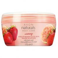 Avon, Naturals, Strawberry & Guava, Jelly Body Wash (Żel-galaretka myjąca pod prysznic 'Truskawka i guawa')
