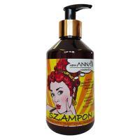 New ANNA, Szampon z naftą kosmetyczną i ekstraktami z jajka, cytryny i drożdży