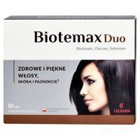 Colfarm, Biotemax Duo, Zdrowe i piękne włosy, skóra i paznokcie